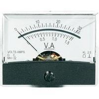 Analogové panelové měřidlo VOLTCRAFT AM-60X46/30V/1,5A/DC 30 V/1.5 A