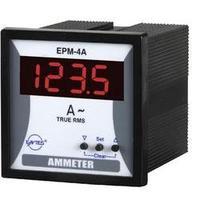 Panelový programovatelný ampérmetr Entes, EPM-4A-72, 50 mA - 10 kA