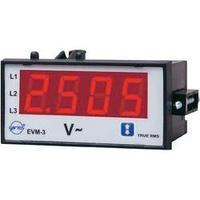 Panelový voltmetr Entes, EVM-3-48, 10 - 600 V/AC