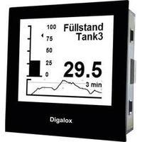 Měřící přístroj na DIN lištu s USB TDE Digalox DPM72-PP, 10 - 30 V AC/DC