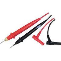 Sada měřicích kabelů Voltcraft TL-1 s osvětlením, černá/červená, 1 m