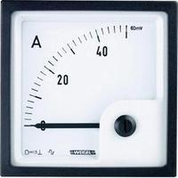 Analogové panelové měřidlo Weigel PQ72K 1000A/60mV 1000 A/DC (60mA)