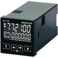 Multifunkční čítač Hengstler tico 772, 12 - 30 V/DC, 2 relé, bílá
