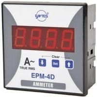 Panelový programovatelný ampérmetr Entes, EPM-4D-96, 50 mA - 10 kA