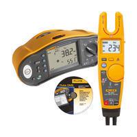 Tester elektrických instalací Fluke 1663 + Fluke T6-600 a SW