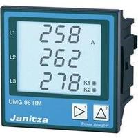 6kanálový síťový analyzátor, Ethernet, s měřením RCM Janitza UMG96RM-E