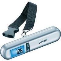 Váha na cestovní zavazdla Beurer LS06, max. váživost 40 kg, rozlišení 10 g, stříbrná