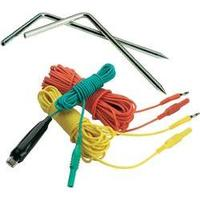 Sada pro měření uzemnění (kabely 3 m, 5 m, 15 m, 2 zemnící hroty) Megger 1001-810 vhodná pro revizní přístroje MFT1835 a DET3TC.