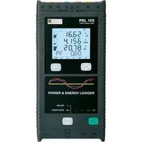 Síťový analyzátor Chauvin Arnoux PEL 103 + klešťový adaptér miniflex