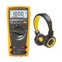 Digitální multimetr Fluke 175 + Bluetooth sluchátka