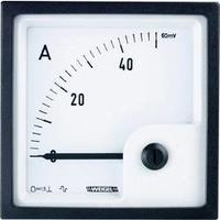 Analogové panelové měřidlo Weigel PQ72K 400A/60mV 400 A/DC (60mV)