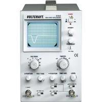 Analogový osciloskop VOLTCRAFT AO-610-2, 10 MHz, 1kanálový , Kalibrováno dle ISO