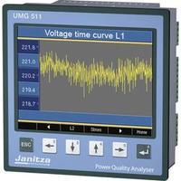 Analyzátor kvality sítě třídy A UMG 511 Janitza UMG 511 5219001, CAT III 600 VKalibrováno dle ISO
