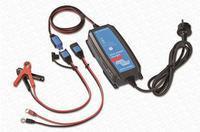 Nabíječka baterií BluePower 12V/10A IP65+DC konektor