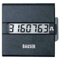 Digitální čítač impulsů Bauser, 3811,2,1,1,0,2, 12 - 24 V/DC, 45 x 45 mm, IP65
