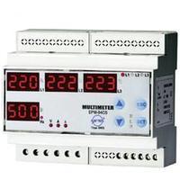 Digitální multimetr na DIN lištu Entes EPM-04C-DIN