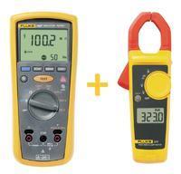 Měřič izolačního odporu Fluke 1507 + ampérmetr Fluke 323