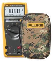 Digitální multimetr Fluke 175 + pouzdro Fluke C25 Camo