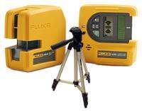 Nivelační křížový laser Fluke 180LG SYSTEM + stativ HAMA Star 05