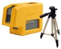 Nivelační bodový laser Fluke 3PG + stativ HAMA Star 05