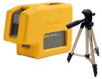 Nivelační bodový laser Fluke 3PR + stativ HAMA Star 05