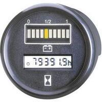 Kontrolér baterie a času Bauser, 830 12VDC, Ø 52 mm, IP67