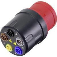 Měřicí adaptér VOLTCRAFT VMA-3L 16 tmavě šedá, červená