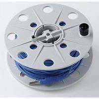 Měřicí kabel Gossen Metrawatt TR50 [4 mm zástrčka - zásuvka 4 mm] 50 m