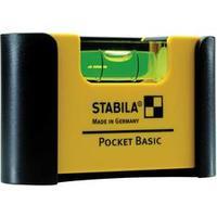 Mini vodováha Stabila Pocket Basic 18114, 68 mm