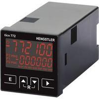 Multifunkční čítač Hengstler tico 772, 12 - 30 V/DC, 2 relé, červená