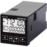 Multifunkční čítač Hengstler tico 772, 230 V/AC, 2 relé, černá