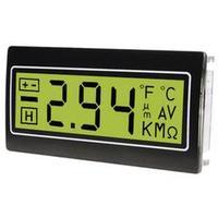 Panelový multimetr TDE DPM961-TG, 22,2 x 45 mm
