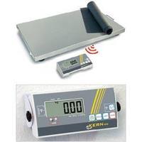 Plošinová váha Kern max. váživost 150 kg rozlišení 50 g 230 V, na baterii stříbrná