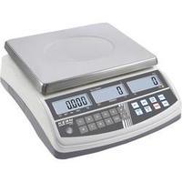 Počítací váha Kern Max. váživost 6 kg, Rozlišení 0.1 g, stříbrná, Kalibrováno dle ISO