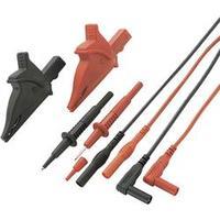 Sada měřicích kabelů Voltcraft MS-5, banánek 4 mm ⇔ banánek 4 mm, černá/červená, 1,2 m