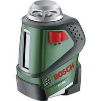 Samonivelační křížová laserová vodováha Bosch Home and Garden PLL 360, dosah (max.): 20 m, Kalibrováno dle: bez certifikátu