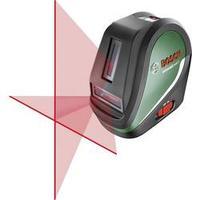 Samonivelační křížový laser Bosch Home and Garden UniversalLevel 3 Basic, dosah (max.): 10 m, Kalibrováno dle: bez certifikátu