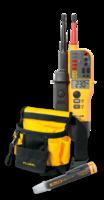 Výhodný set - zkoušečka Fluke T150 + tester napětí LVD2 + ZDARMA opasek na nářadí
