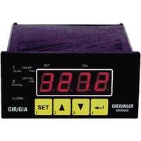 Univerzální panelový měřič a regulátor Greisinger GIR 2002, 43 x 90,5 mm