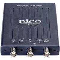 USB osciloskop pico 2205A, 25 MHz, 2kanálový, Kalibrováno dle ISO, s pamětí (DSO), generátor funkcí, spektrální analyzátor