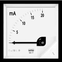 Vestavný měřicí přístroj 72 x 72 mm Lumel MA17 50A/60mV 50 V/DC (60 mV) Magnetoelektrický