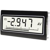 Voltmetr a ampérmetr TDE Instruments DPM-802-TW-TV, ,1 mV - 300 V, 0,1 µA - 10 A