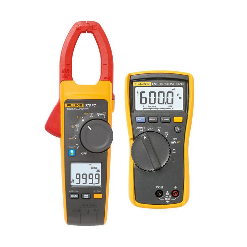 Klešťový multimetr Fluke 376 FC  + multimetr Fluke 114 - 1
