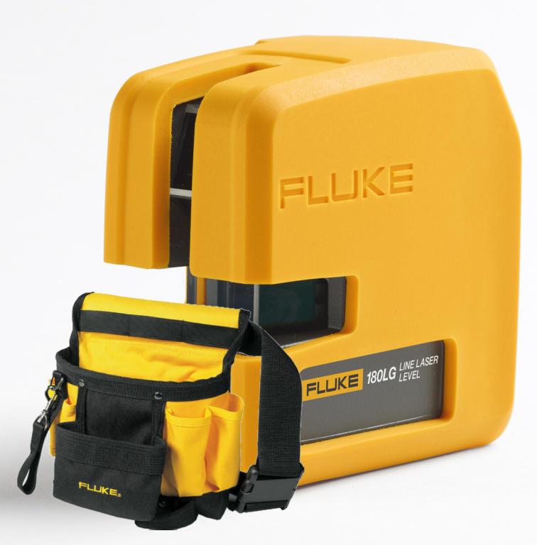Fluke 180LG - nivelační křížový laser a brašna na opasek FLUKE MI240 - 1