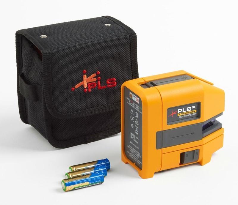 Nivelační křížový a bodový laser Fluke PLS 6R Z - 1