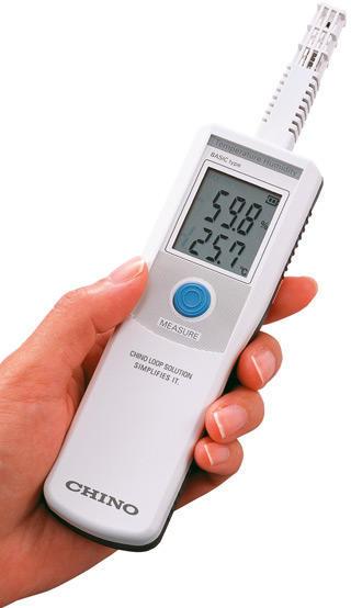 Ruční měřicí přístroj teploty/vlhkosti CHINO série HN-EH
