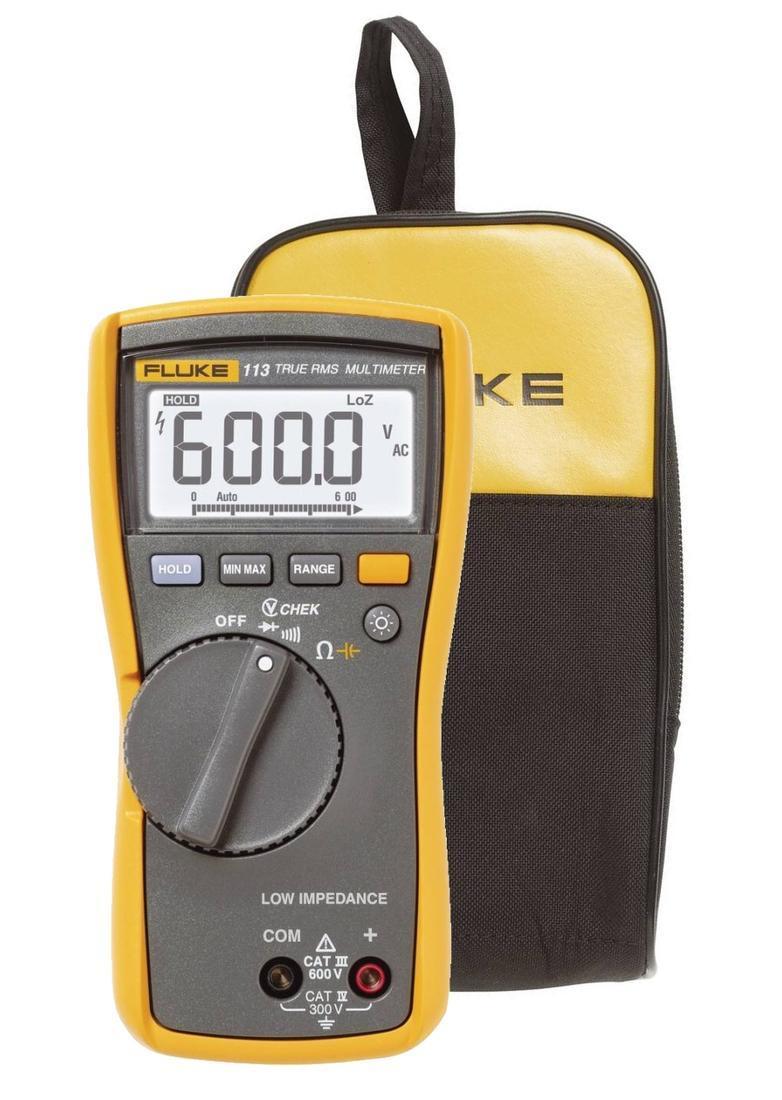 Fluke 113 - digitální multimetr + pouzdro Fluke C25 - 1