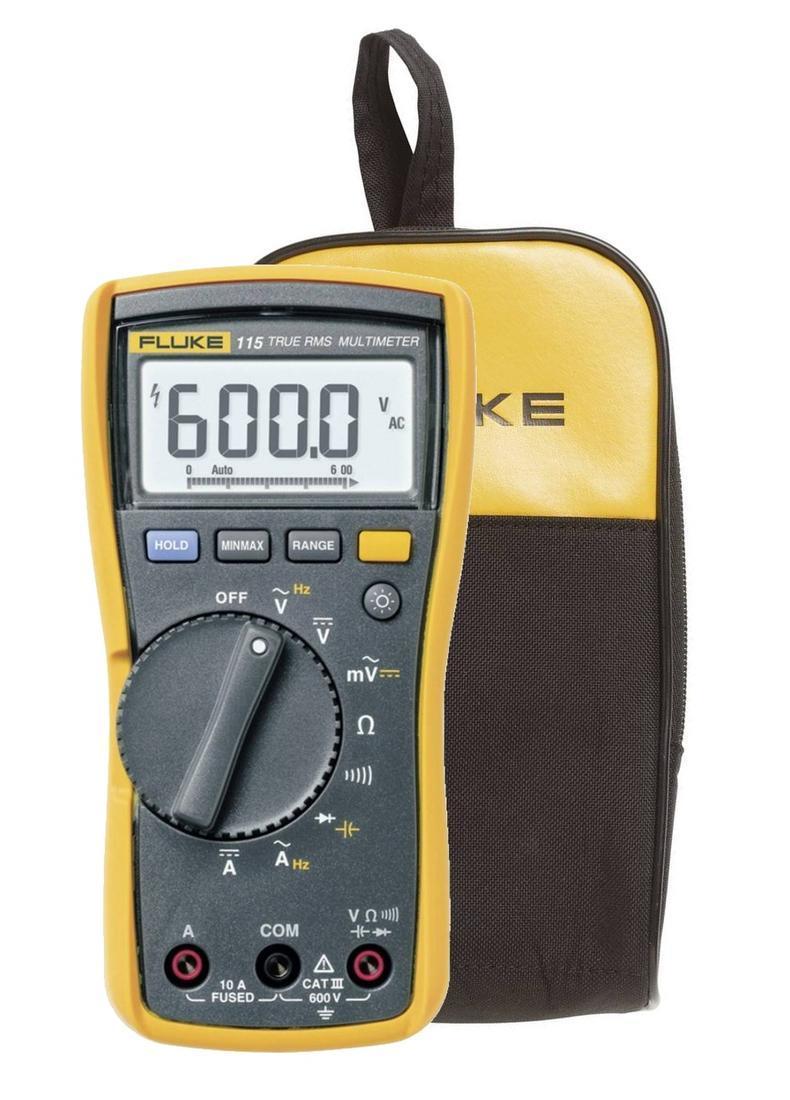 Fluke 115 - digitální multimetr + pouzdro Fluke C25 - 1