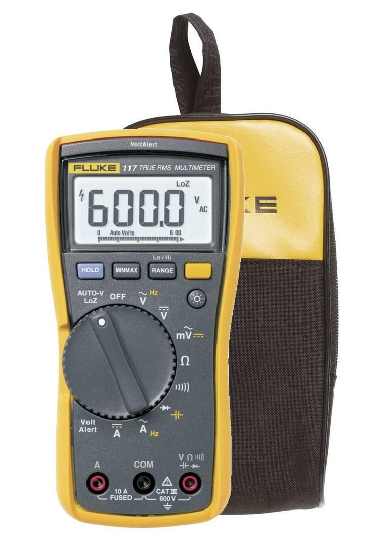 Fluke 117 - digitální multimetr + pouzdro Fluke C25 - 1