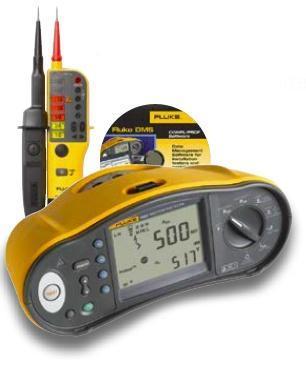 Tester elektrických instalací Fluke 1662 + Fluke T110 a SW